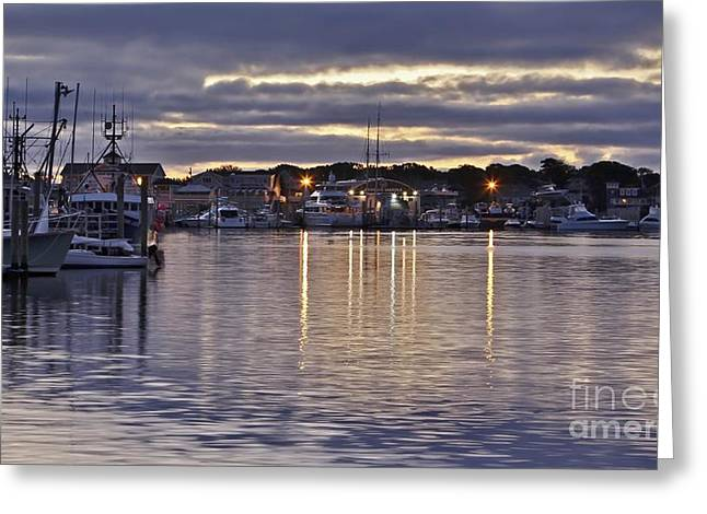 Hyannis Sunset Greeting Card