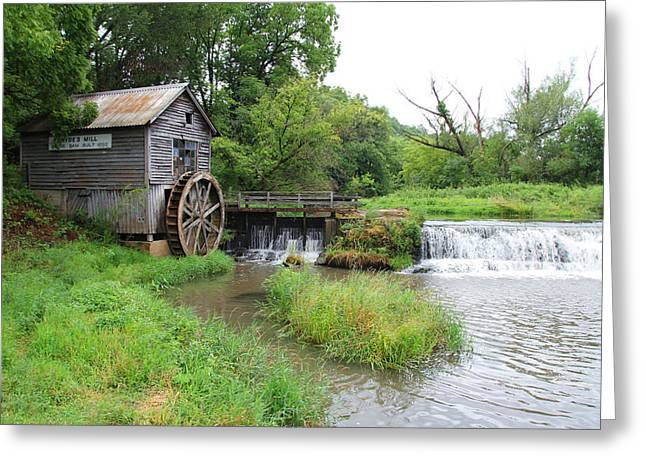 Hyde Mill Greeting Card by John Kunze