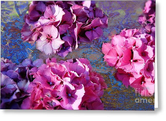 Hydrangea Mix Greeting Card
