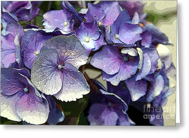 Greeting Card featuring the photograph Hydrangea by Rosemary Aubut