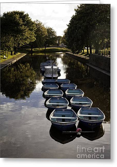 Hythe Military Canal Kent Greeting Card by Lesley Rigg