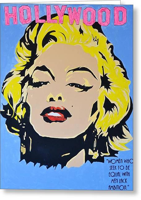 I Am Marilyn Greeting Card