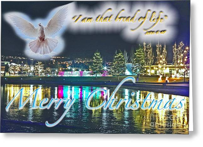 I Am Greeting Card by Terry Wallace
