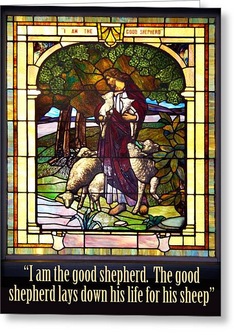 I Am The Good Shepherd Greeting Card