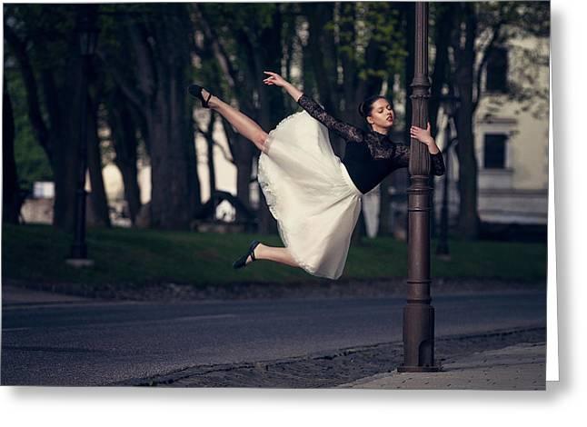 I Dance, I Am Greeting Card