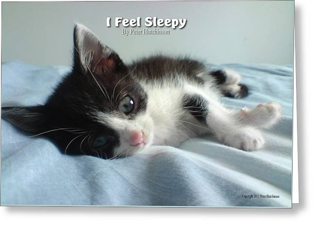 I Feel Sleepy Greeting Card