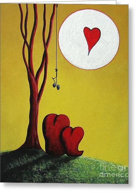 I Heart You By Shawna Erback Greeting Card by Shawna Erback