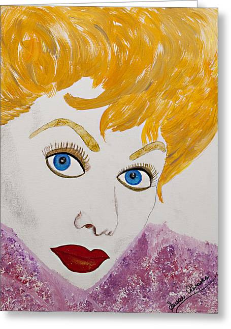 I Love Lucy Greeting Card