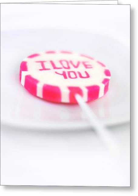 I Love You My Sweet Greeting Card by Gynt