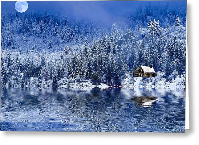 I Loved You In Winter Greeting Card
