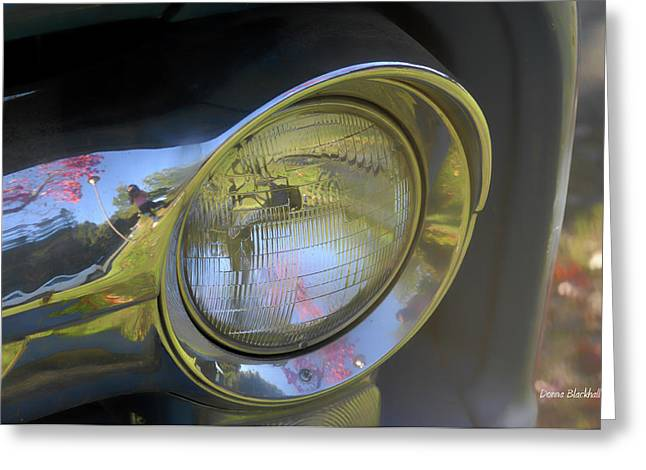Old Trucks Greeting Cards - I See You Greeting Card by Donna Blackhall
