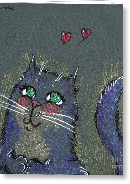 I Think I Am In Love Greeting Card