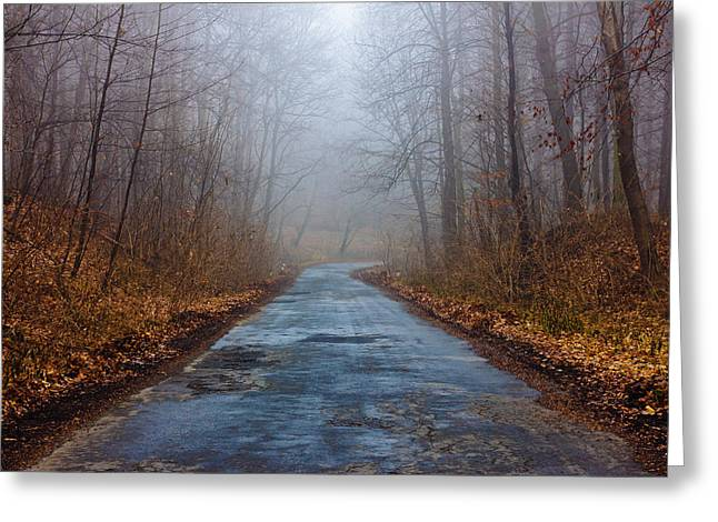 I Walk A Lonely Road Greeting Card by Pati Photography