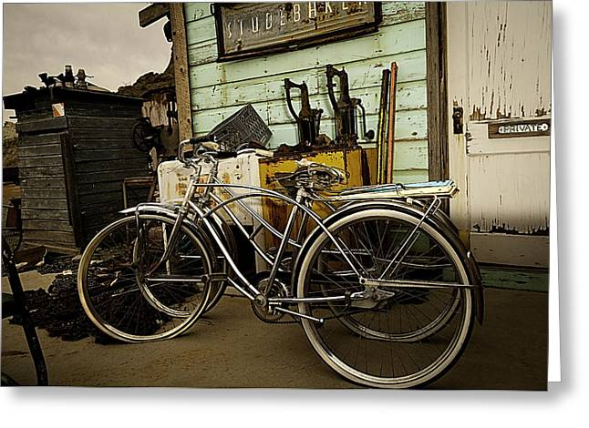 Greeting Card featuring the photograph I Want To Ride My Bicycle 2 by James Sage