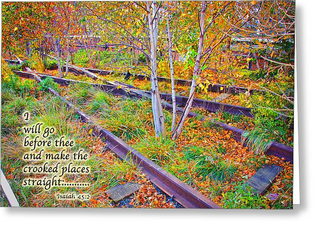 I Will Follow Lord Greeting Card by Terry Wallace