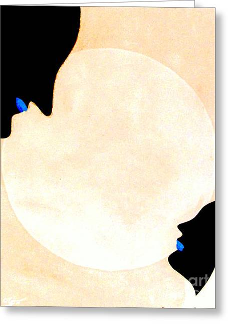 Greeting Card featuring the painting I Will Love You Forever by Bill OConnor