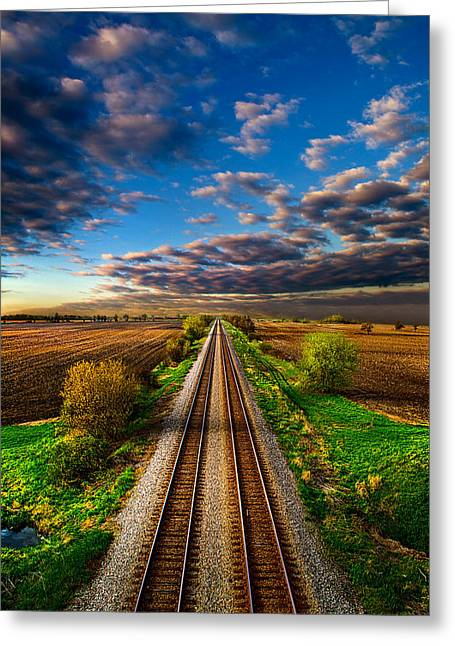 I Will Return Greeting Card by Phil Koch