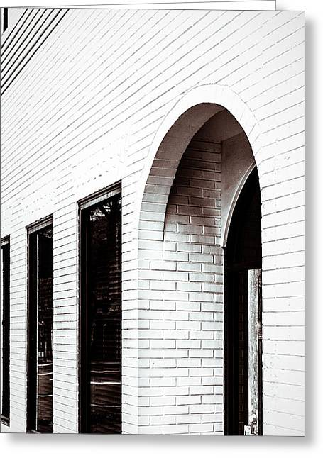Greeting Card featuring the photograph I Woke Up In A Soho Doorway by Wade Brooks