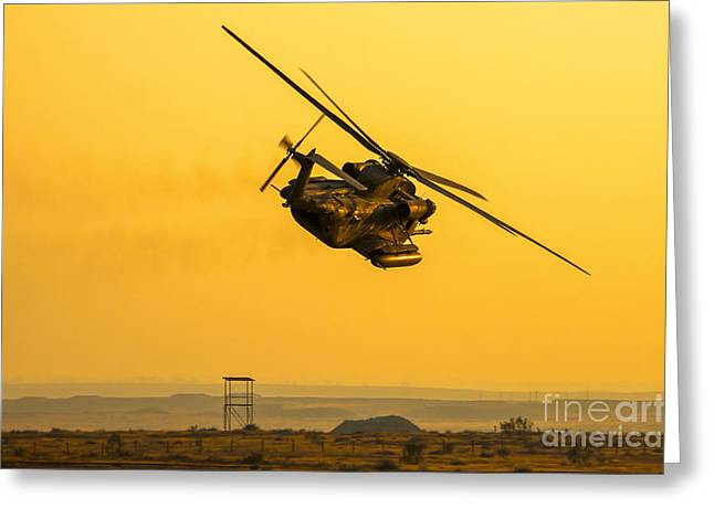 Iaf Sikorsky Ch-53 Helicopter Greeting Card