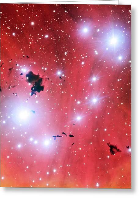 Ic 2944 Nebula Greeting Card
