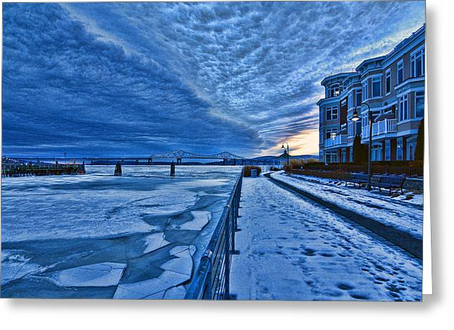 Ice Station Hudson Greeting Card