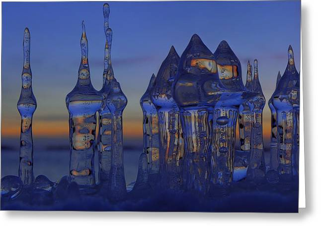 Ice City Greeting Card