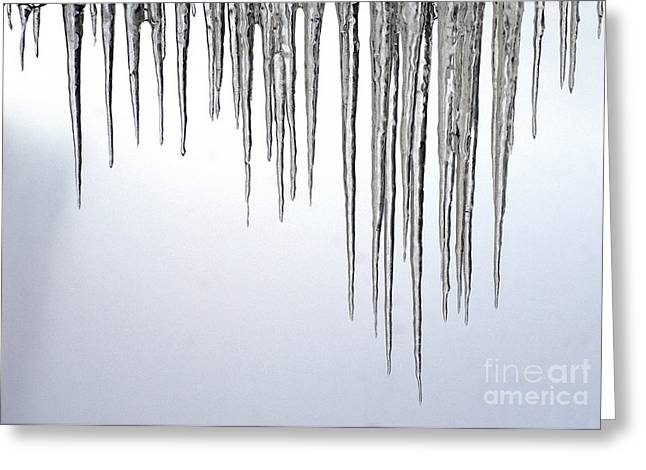 Ice Cycles Greeting Card by Paul W Faust -  Impressions of Light