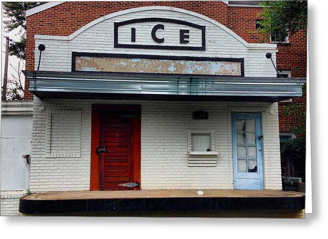 Ice House - Old Town Alexandria Greeting Card