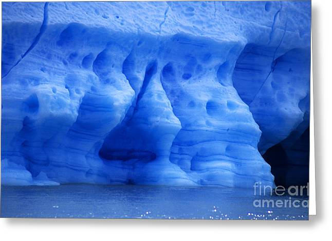 Ice Sculpture Greeting Card by James Brunker