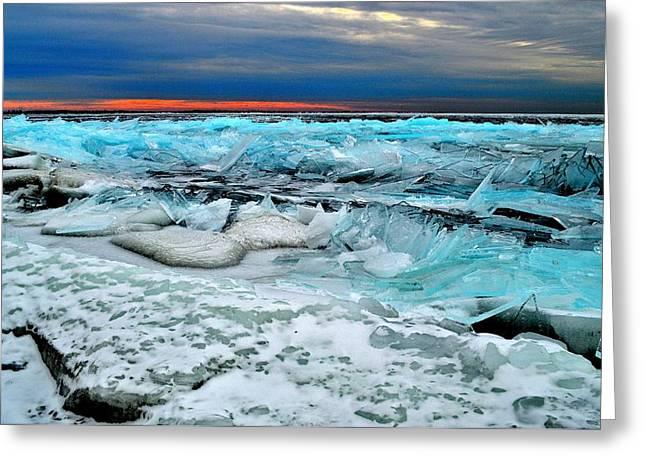 Ice Storm # 14 - Kingston - Canada Greeting Card
