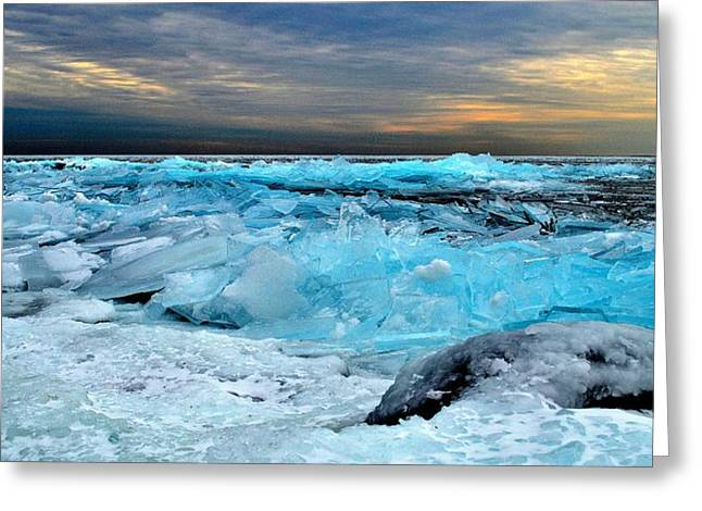 Ice Storm #15 - Kingston - Canada Greeting Card
