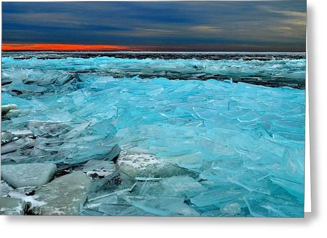 Ice Storm #5 - Kingston - Canada Greeting Card