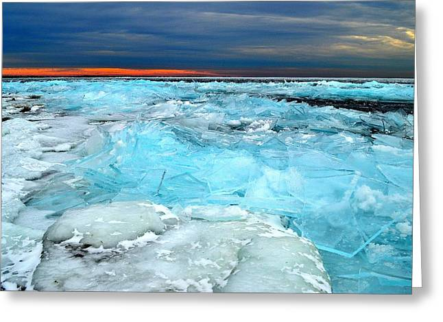 Ice Storm # 9 - Kingston - Canada Greeting Card