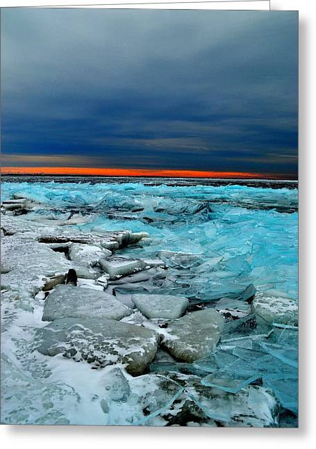 Ice Storm # 7 - Battery Bay - Kingston - Canada Greeting Card