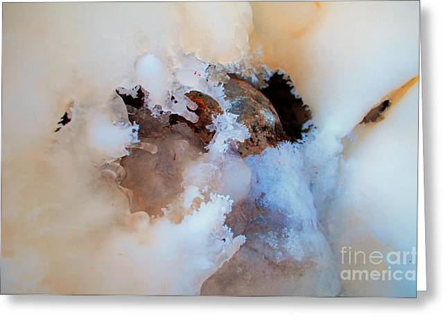 Ice Transformation Vi Greeting Card by Gwyn Newcombe