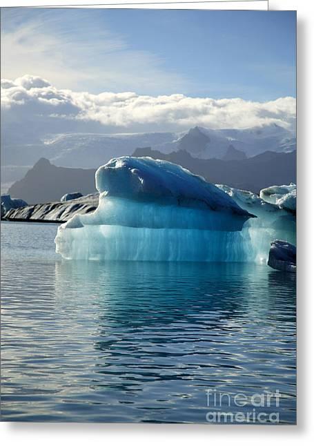 Iceberg Greeting Card by Deborah Benbrook