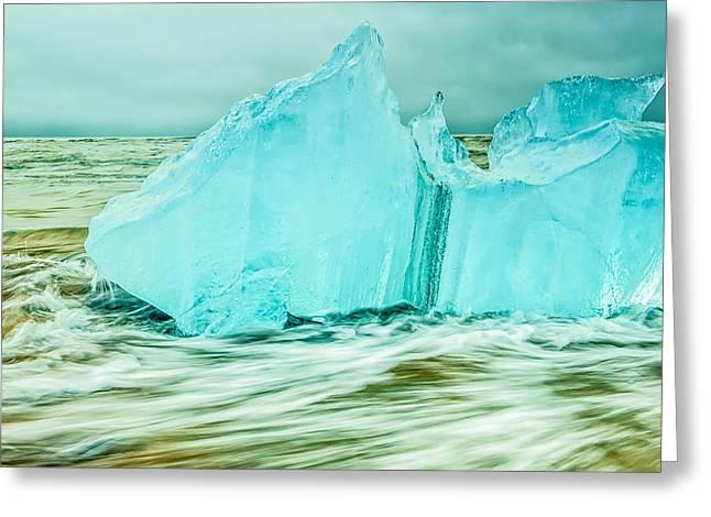 Iceberg Flow Greeting Card