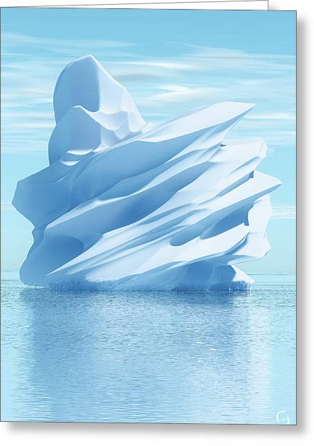 Iceberg Greeting Card