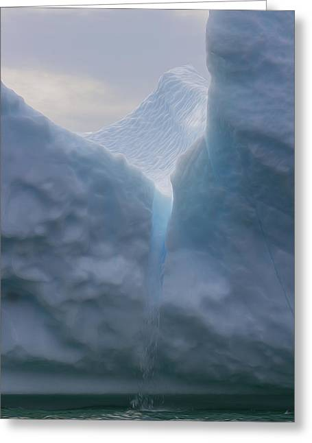 Iceburg 2 Greeting Card by Patsy Zedar