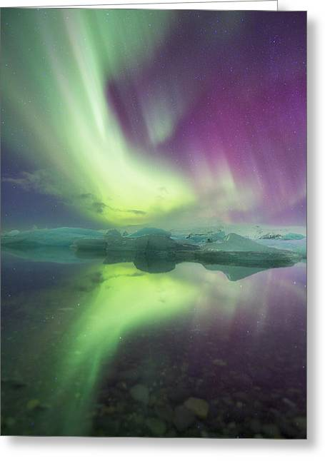 Iceland, Jokulsarlon Greeting Card by Jaynes Gallery