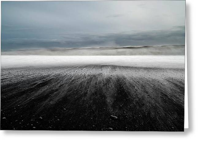 Iceland Vik Greeting Card by Ronny Olsson