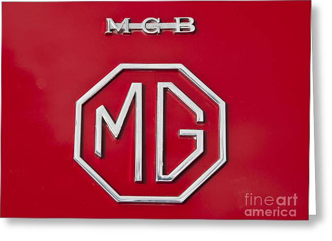 Iconic Mgb Badge Greeting Card