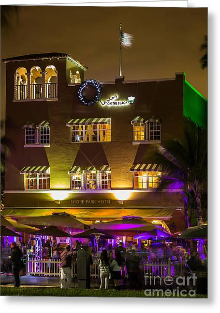 Iconic Shore Park Hotel Casa Larios Greeting Card by Rene Triay Photography