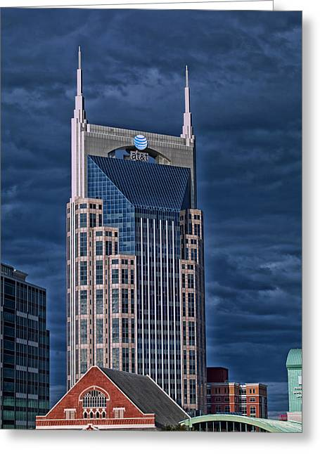 Icons Of Nashville Greeting Card