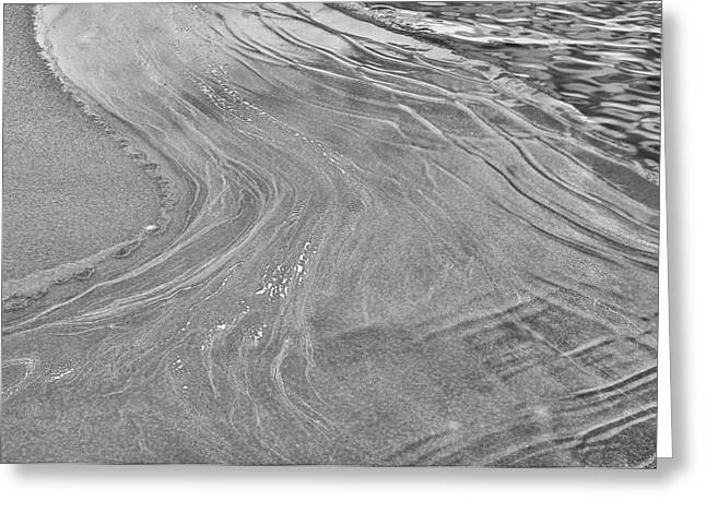 Icy Waves Greeting Card by Brian Mollenkopf