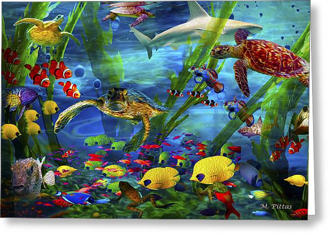 I'd Like To Be Under The Sea...... Greeting Card