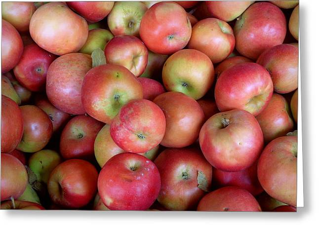 Ida Red Apples Greeting Card by Joseph Skompski
