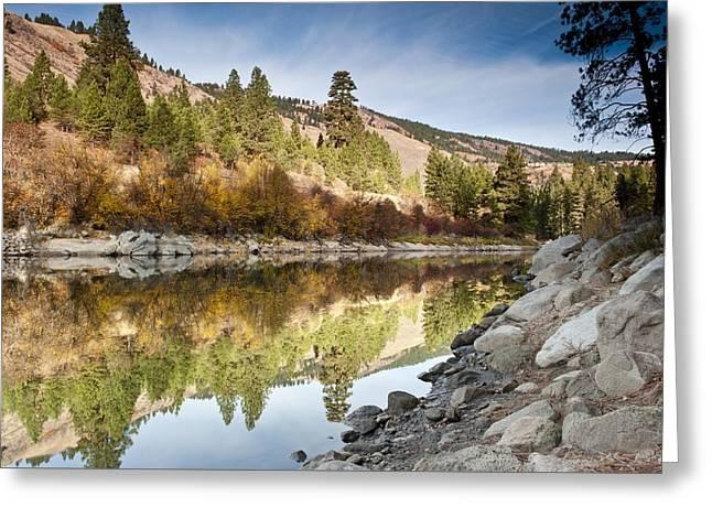 Idaho River  Greeting Card