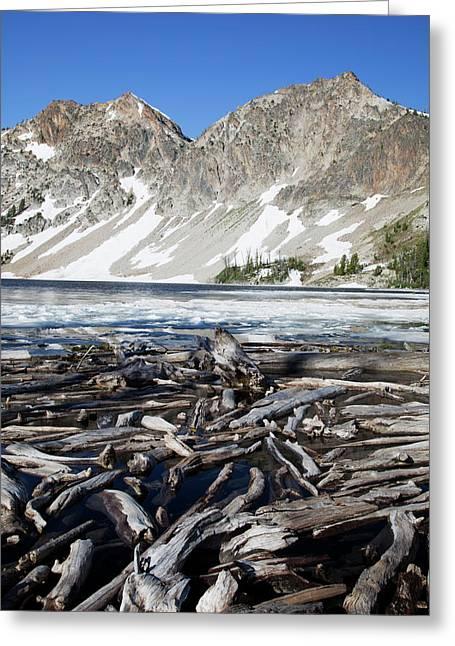Idaho, Sawtooth Wilderness, Sawtooth Greeting Card by Jamie and Judy Wild