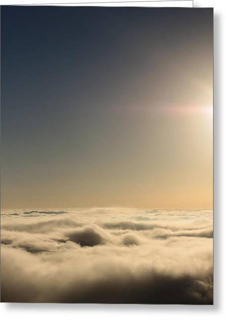 Idyllwild Clouds Greeting Card by Denice Breaux